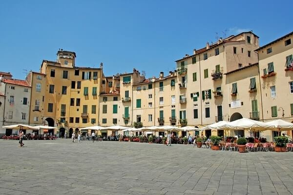 Lucca, day tour from Florence