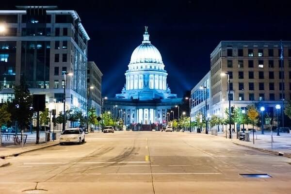 Madison, beautiful city for day trips from Chicago | Chicago day trips