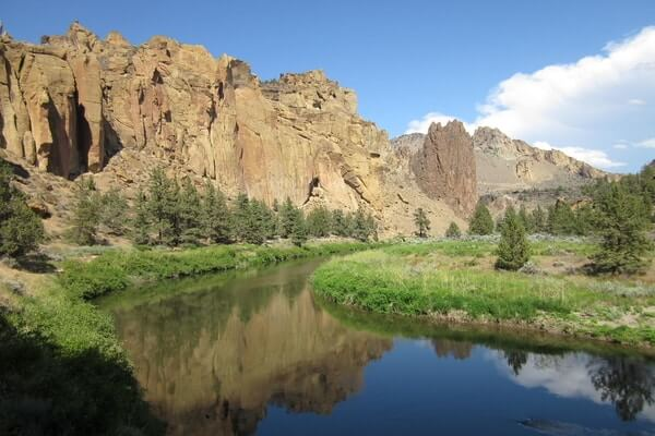 Smith Rock State Park, weekend trip from Portland