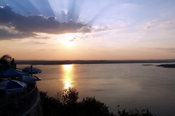 Sunset View At Oasis On Lake Travis