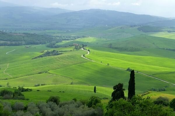 Val D'Orcia, day tour from Florence