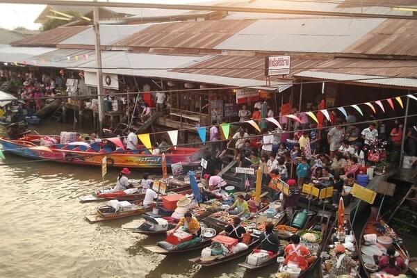 Amphawa Floating Market, Day Trips from Bangkok