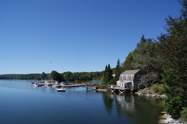 Damariscotta;best day trips from portland maine
