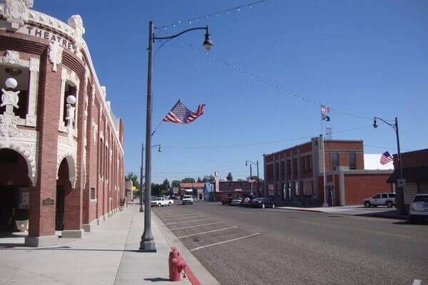 Downtown Rupert Idaho; Best Places To Visit In Idaho