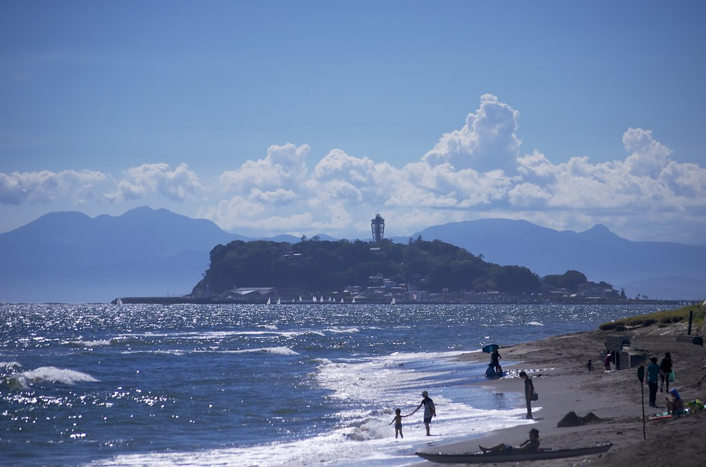 Enoshima; best day trip from Tokyo