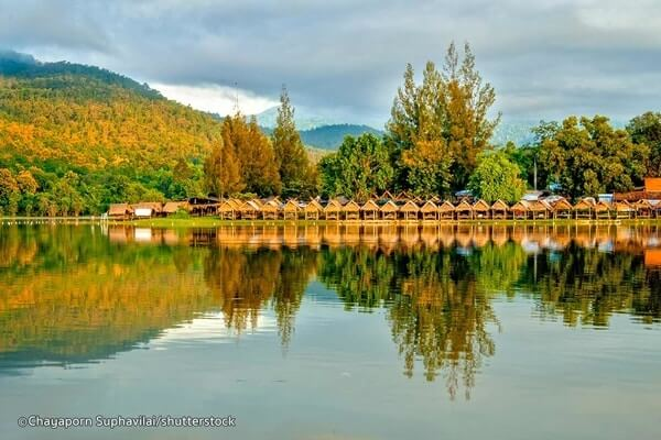 Huay Tung Tao Lake, best day trips from Chiang Mai,