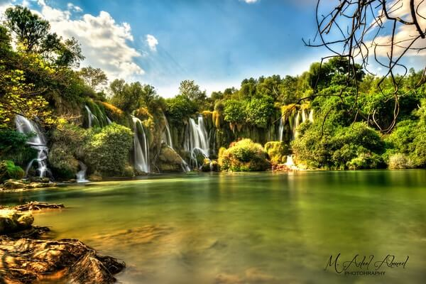 Kravice Waterfall, Day trips from Dubrovnik,montenegro day trip from dubrovnik