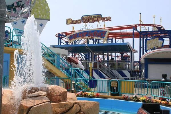 Morey's Piers and Waterparks; best day trips from philadelphia