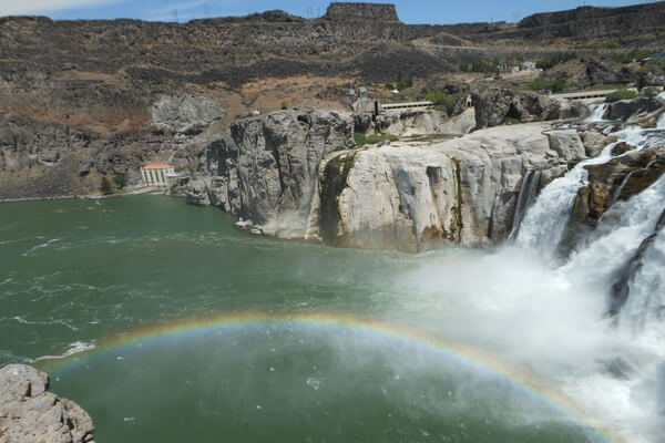 Shoshone Falls, day trip from Boise