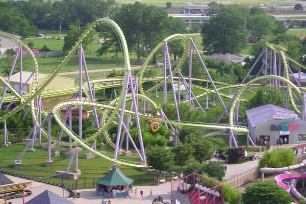 Six Flag Adventure Park; day trips from philly; best day trips from philadelphia
