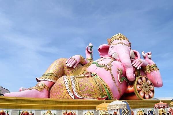 Wat Saman Rattanaram, day trips from Bangkok