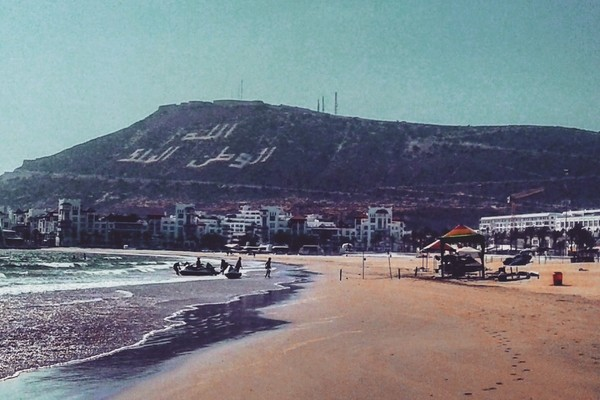 Agadir, best places to visit in Morocco;