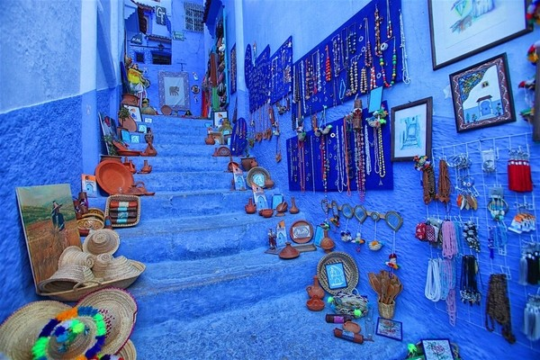 Chefchaouen,  places to visit in Morocco;
