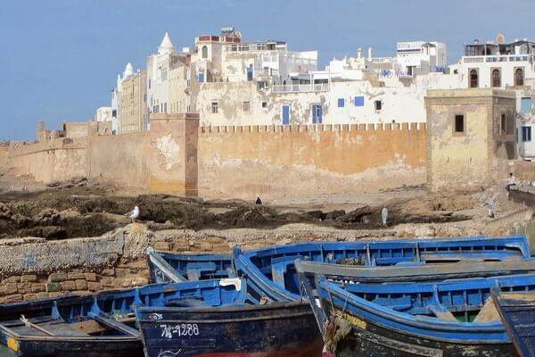 Essaouira, famous places to visit in Morocco;
