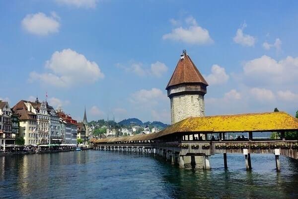 Lucerne, best places to visit in Switzerland