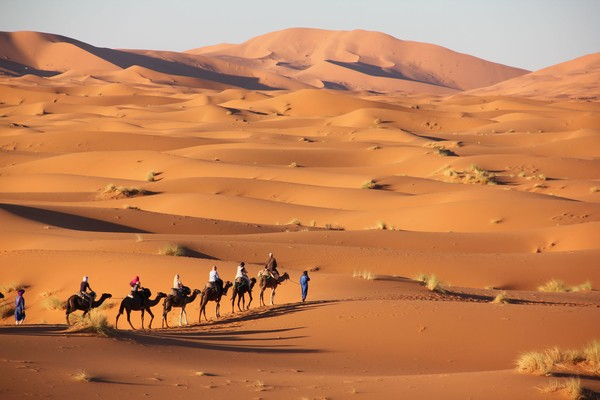 Merzouga, best places to visit in Morocco;