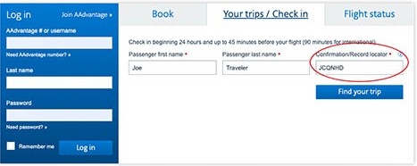 American airlines make your trip, American airlines manage booking