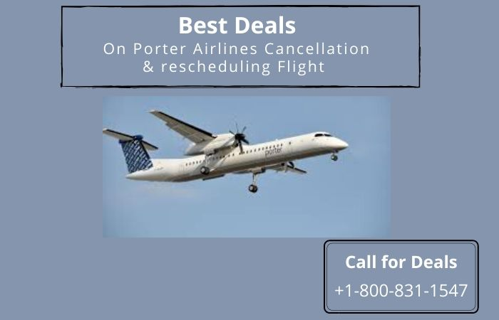 Porter Airlines Cancellation