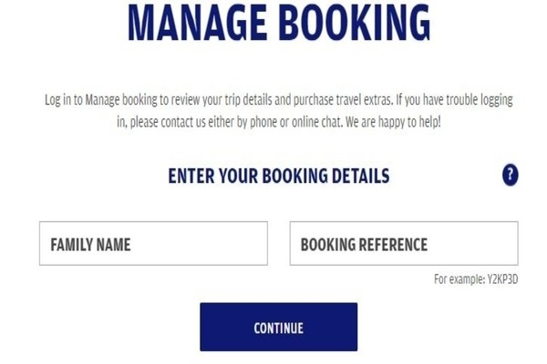 Finnair airlines manage booking