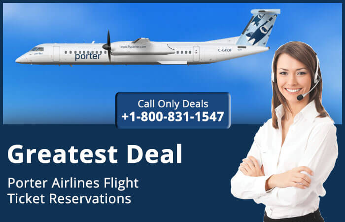 Porter Airlines Flights Reservation