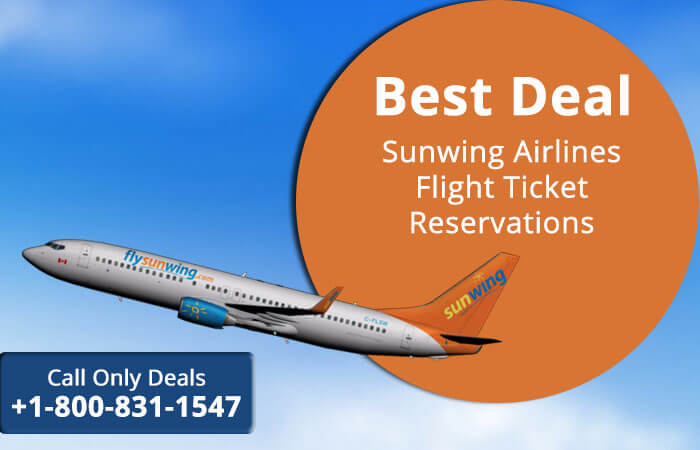 Sunwing Airlines Reservations, Flights Seats Online Booking