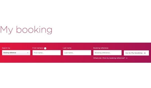 Virgin Atlantic Airways manage booking