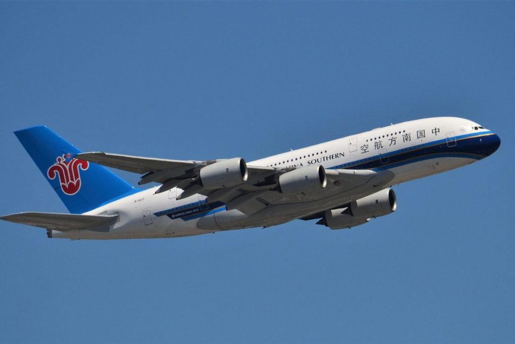 China Southern Airlines Cancellation