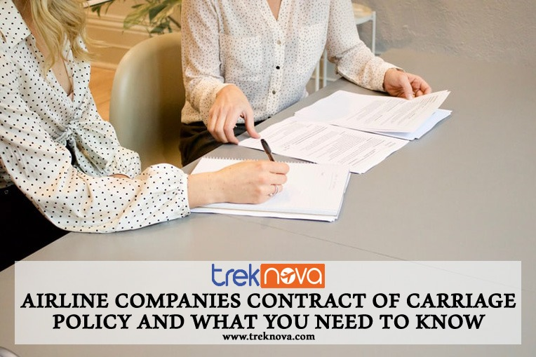 Airline Companies Contract of Carriage Policy and What You Need to Know