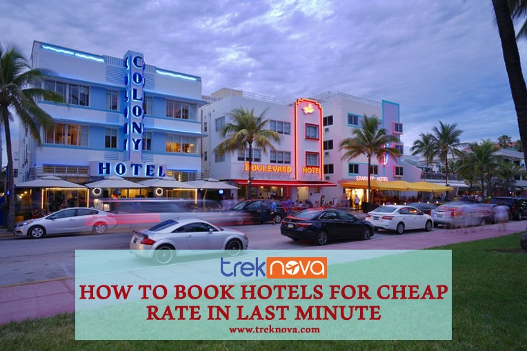 How to Book Hotels for Cheap Rate in Last Minute